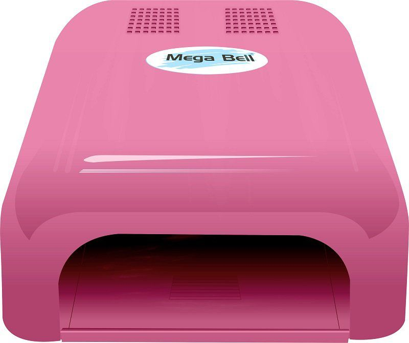 Cabine LED Para Unhas de Gel e Acrigel - Mega Bell Pink