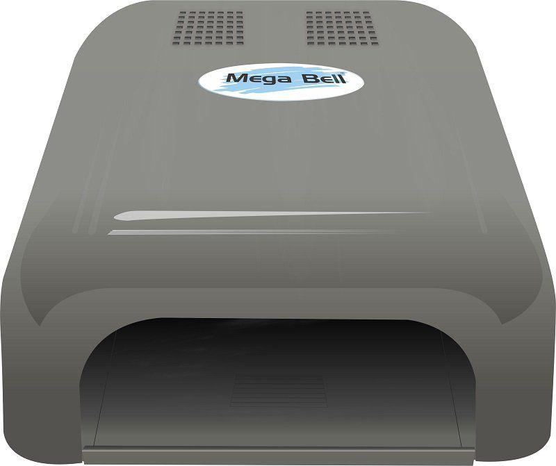 Cabine LED Para Unhas de Gel e Acrigel - Mega Bell Prata