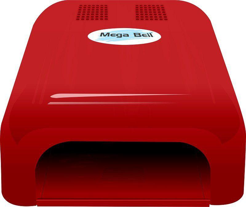 Cabine LED Para Unhas de Gel e Acrigel - Mega Bell Vermelha
