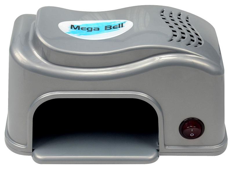 Cabine UV Compact para Unhas - Mega Bell Prata 220v