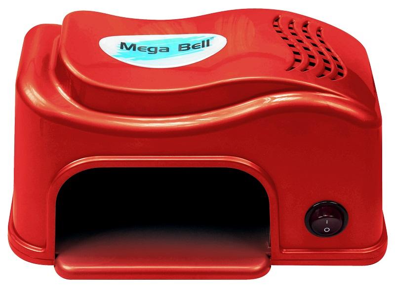 Cabine UV Compact para Unhas - Mega Bell Vermelha 110v