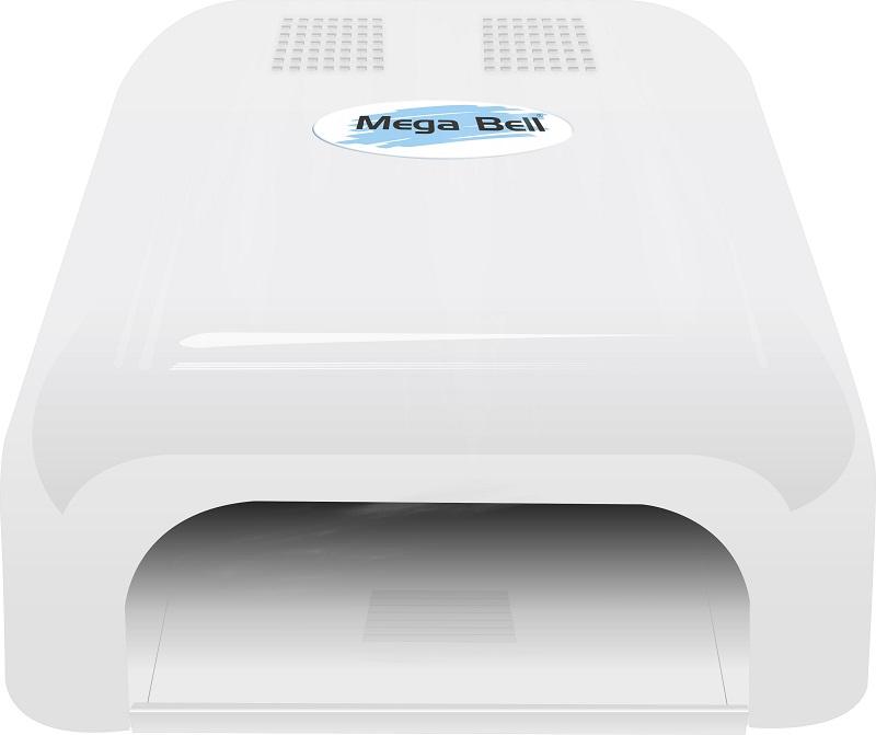 Cabine UV para Unhas de Gel e Acry-Gel Mega Bell - Branca 220v