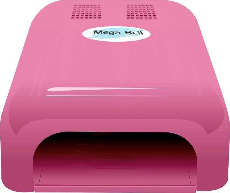 Cabine UV para Unhas de Gel e Acry-Gel Mega Bell - Pink 220v