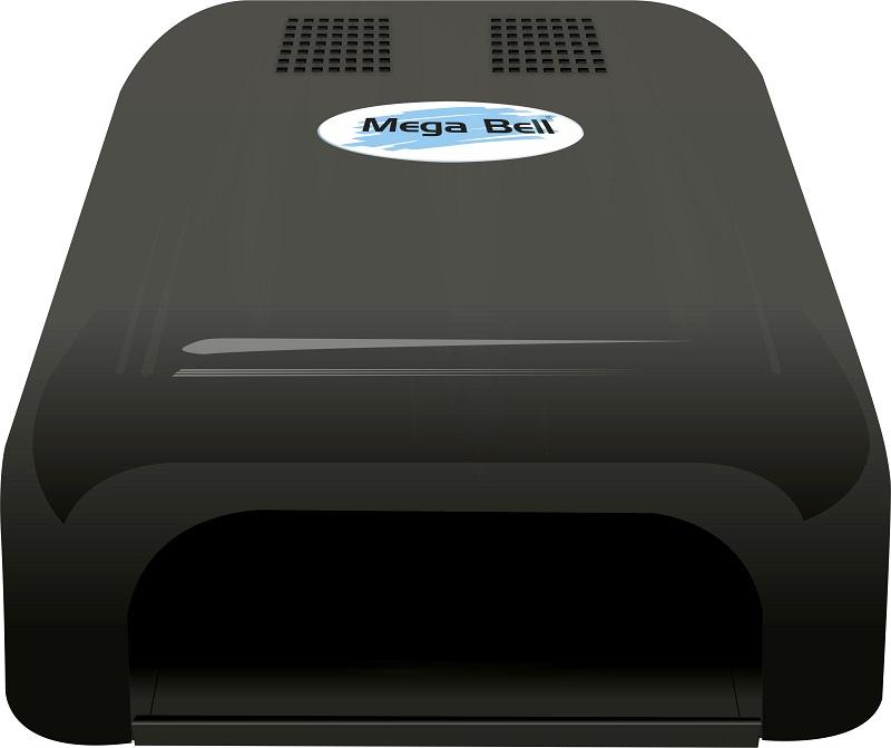 Cabine UV para Unhas de Gel e Acry-Gel Mega Bell - Preto 110v