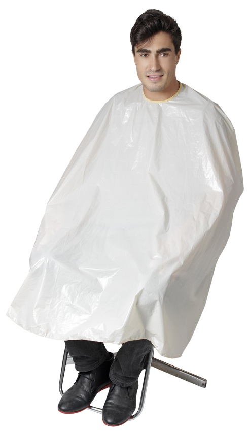 Capa De Corte Polivinil/Plástica Sem Manga e Velcro - 01 Unidade