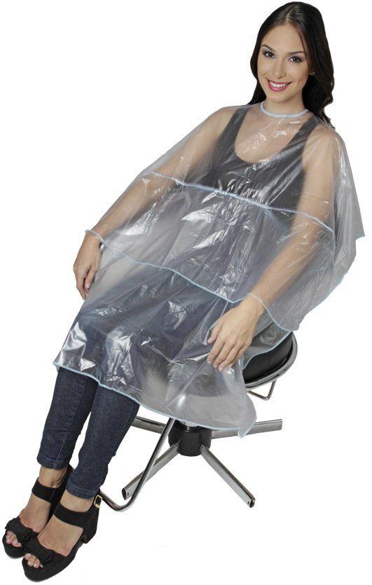 Capa PVC Conforto Para Tintura Com Velcro - 01 Unidade