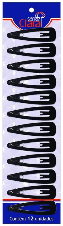 Cartela De Tic Tac Para Cabelos MD-01 Com 12 Unidades - Santa Clara