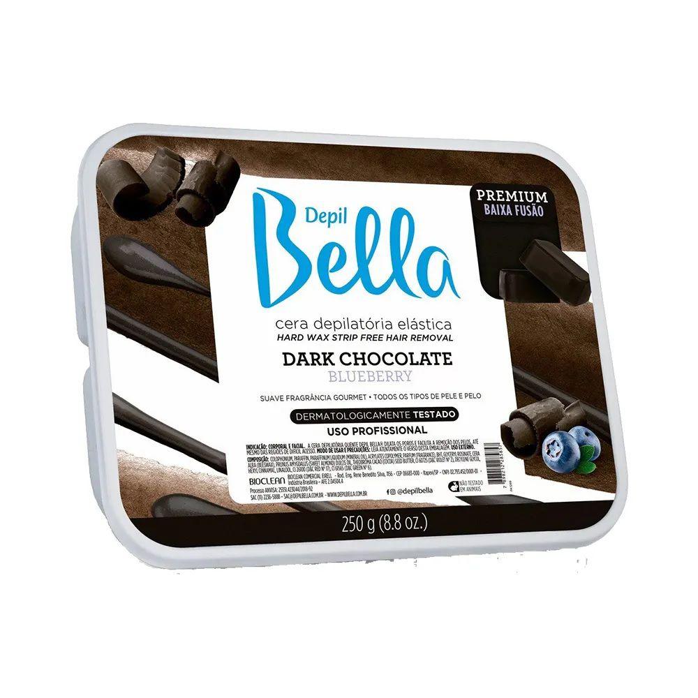 Cera Depilatória Elástica Dark Chocolate - Depil Bella