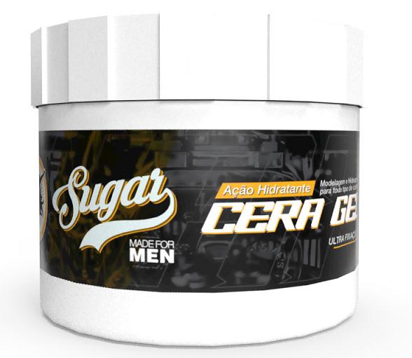 Cera Gel Wax Gel Ultra Fixação Sugar - 300g