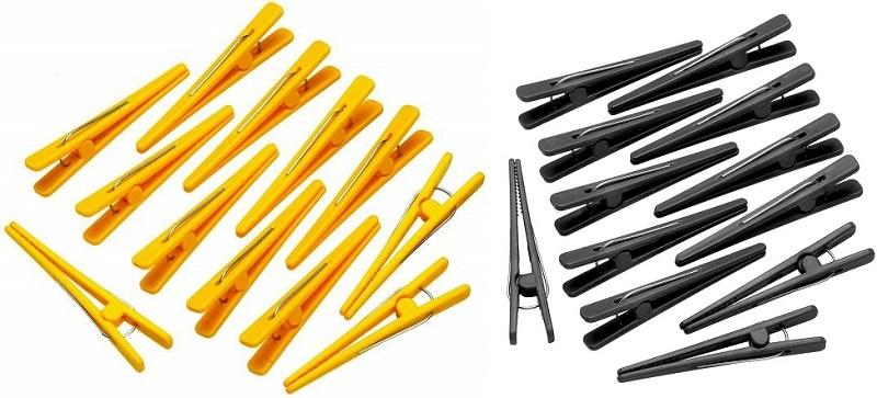 Refil de Clips Plástico Para Cabelo Pacote Com 250 Unidades - Santa Clara