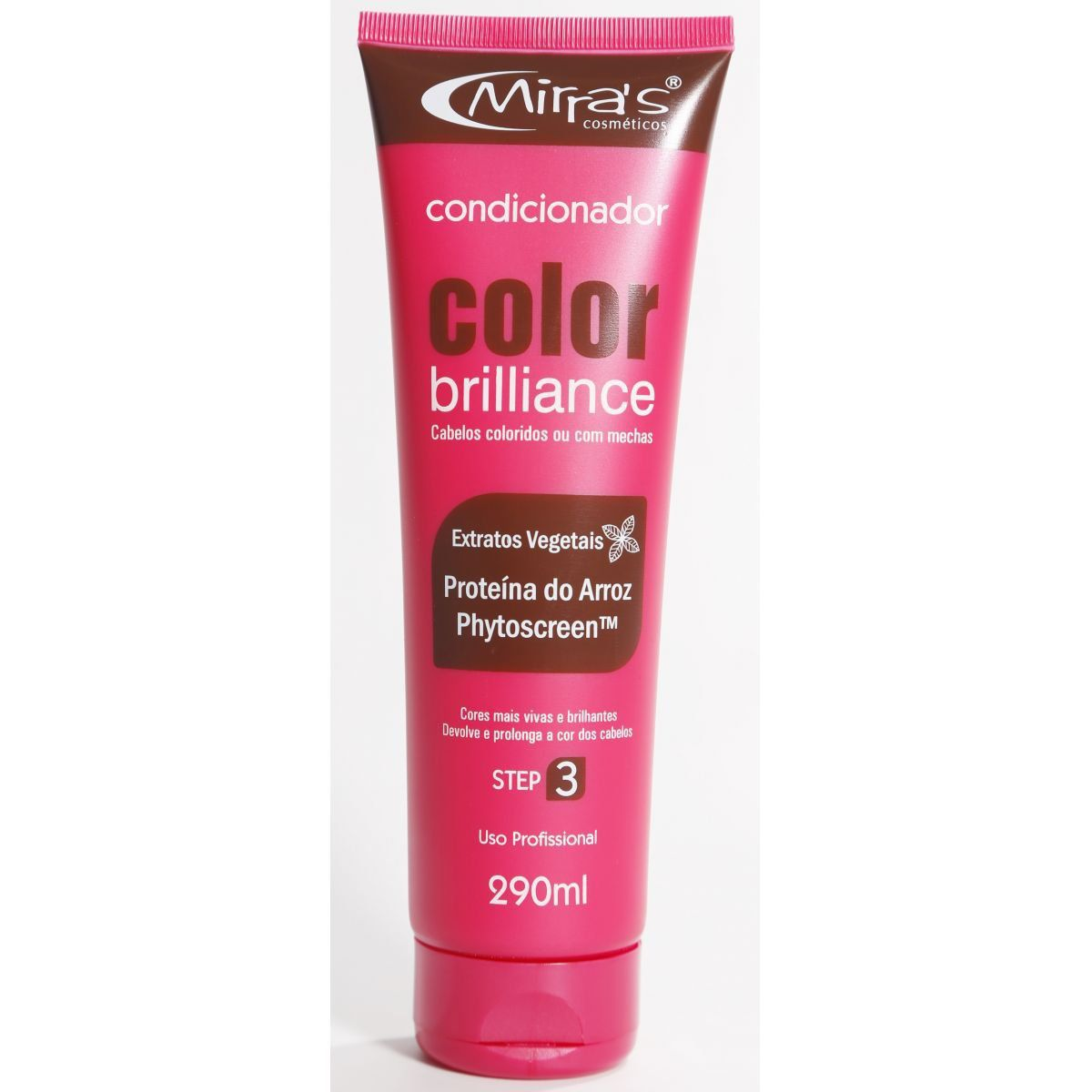 Condicionador Color Brilliance Proteína do Arroz 290ml - Mirra´s