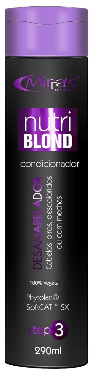 Condicionador  Desamarelador Nutri BLond 290ml - Mirra´s