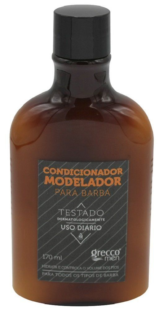 Condicionador Modelador Para Barba 170ml - Grecco Men
