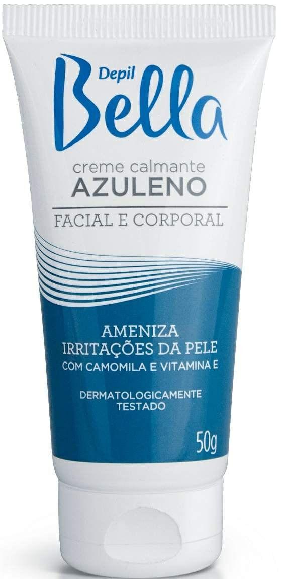 Creme De Azuleno Pós Depilação Com Camomila e Vitamina E - Depil Bella