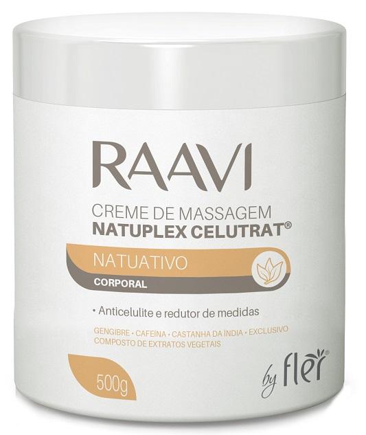 Creme de Massagem Natuplex Celutrat Corporal - Raavi Combate a Celulite