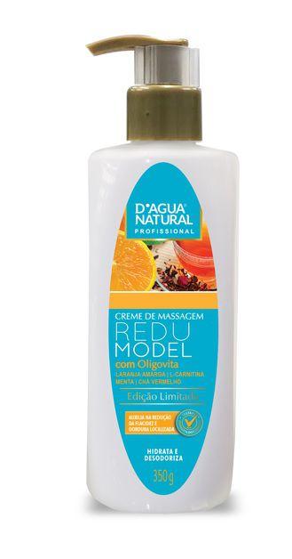 Creme de Massagem Redumodel com Oligovita - 350g - D'agua Natural