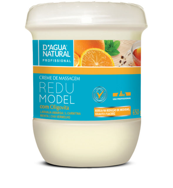 Creme De Massagem Redumodel para Celulite 650gr - Dagua Natural