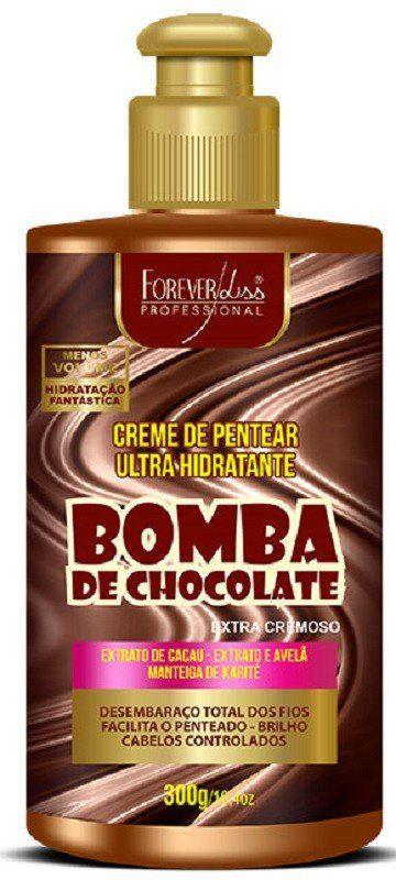 Creme de Pentear Bomba de Chocolate 300gr - Forever Liss