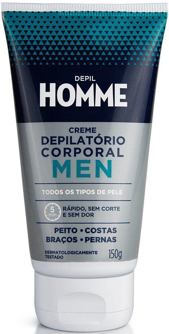 Creme Depilatório Corporal Masculino 150gr - Depil Homme