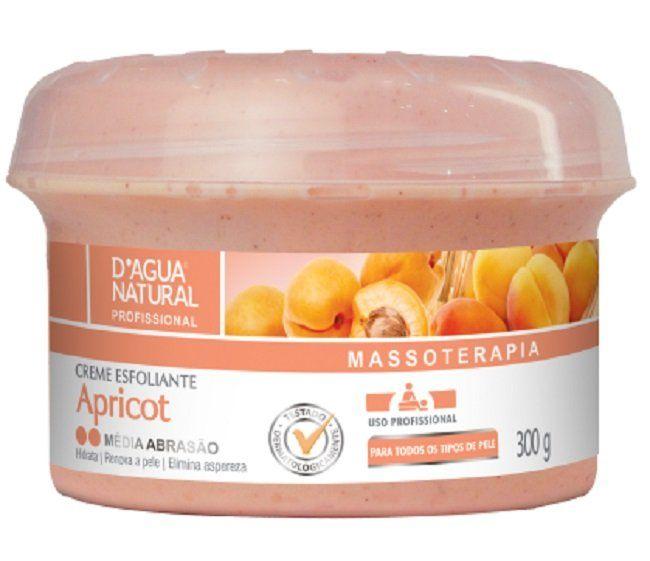 Creme Esfoliante Apricot Média Abrasão 300g - Dágua Natural