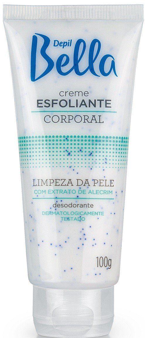 Creme Esfoliante Corporal - 100g  Depil Bella