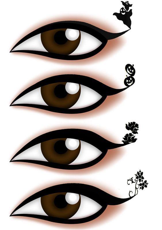 Delineador Adesivo Para os Olhos  EYE-1907