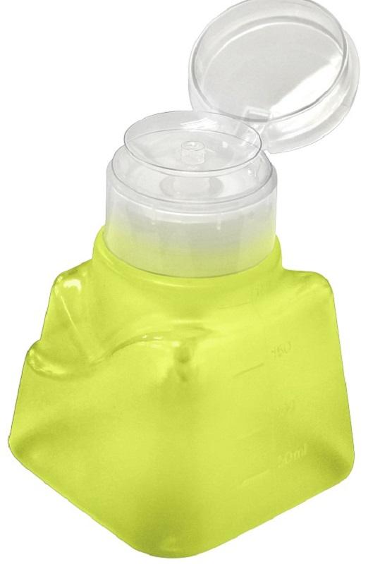 Dosador Porta Acetona Modelo Italiano Verde Limão 180ml - Santa Clara
