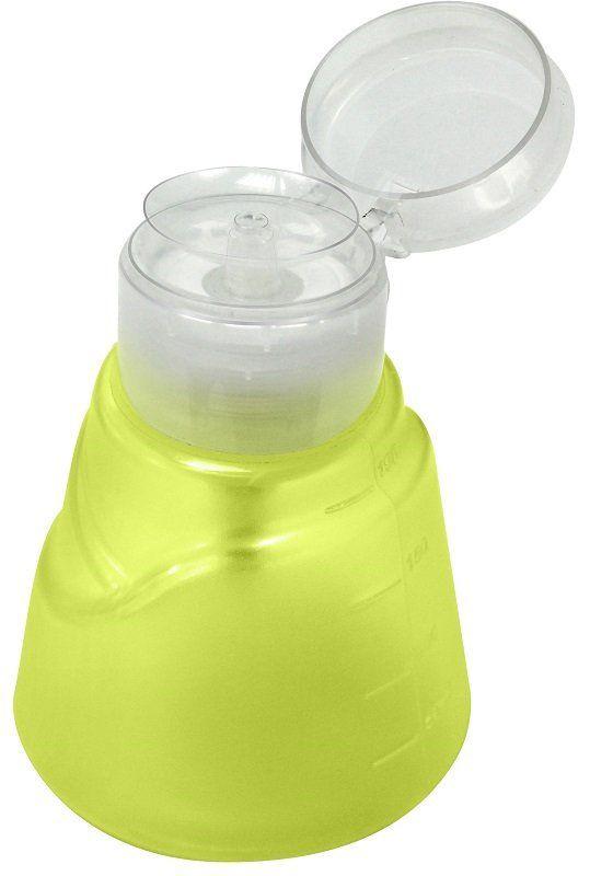 Dosador Porta Acetona Modelo Veneza Verde Limão 190ml - Santa Clara
