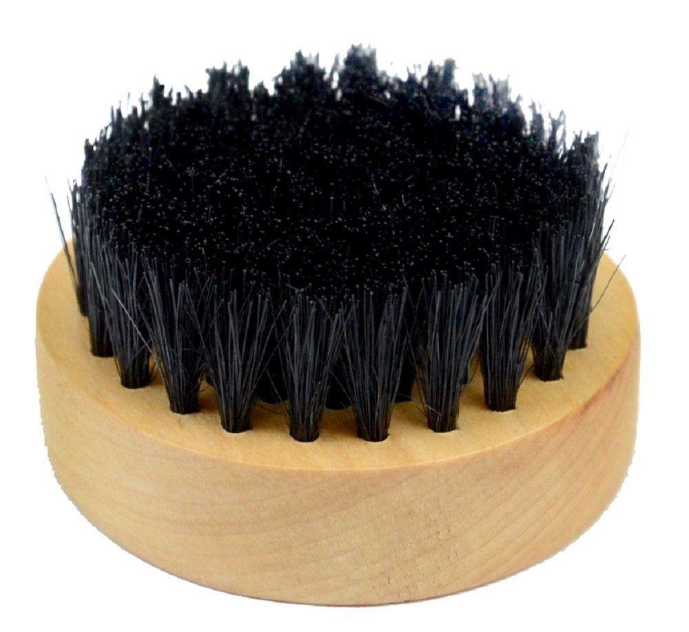 Escova de Madeira Com Cerdas de Nylon Para Barbeiro