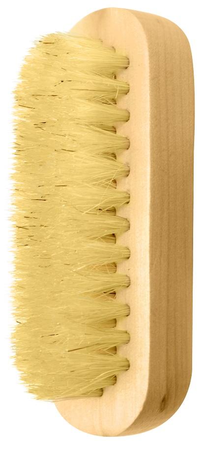 Escova De Madeira Oval Para Limpeza Das Unhas 01 Unidade