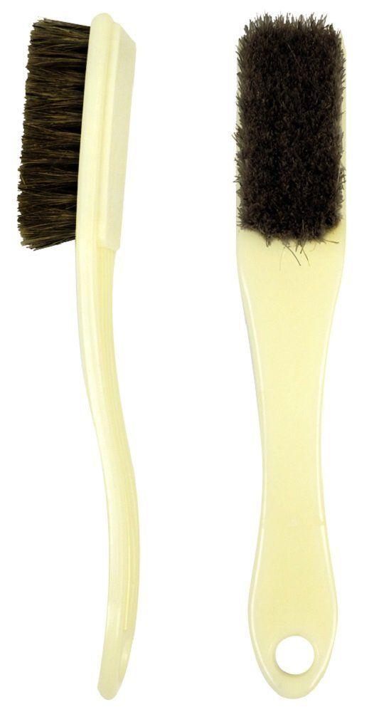 Escova Plástica Com as Cerdas Escuras Para Barbeiro