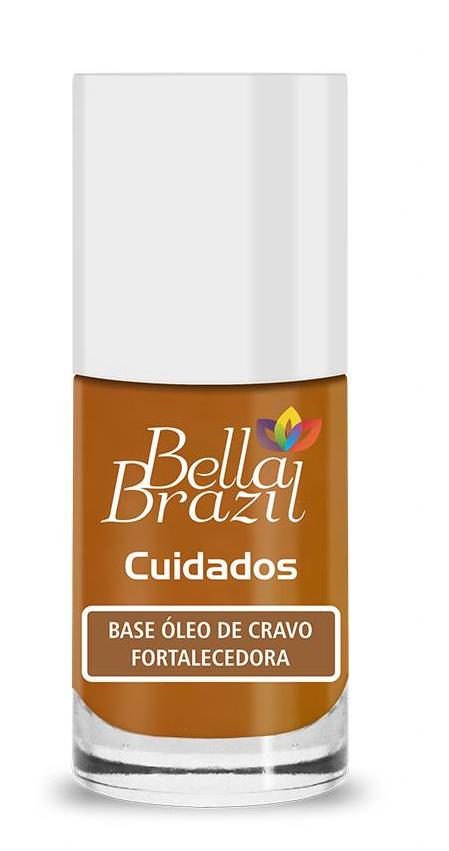 Esmalte Bella Brazil Base Óleo de Cravo Fortalecedora 9ml
