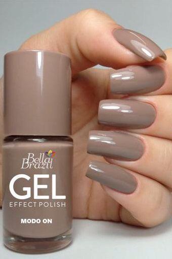 Esmalte Bella Brazil Efeito Gel - Modo On 9ml