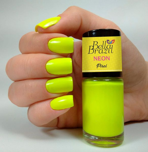 Esmalte Bella Brazil Neon Pirei - 9ml