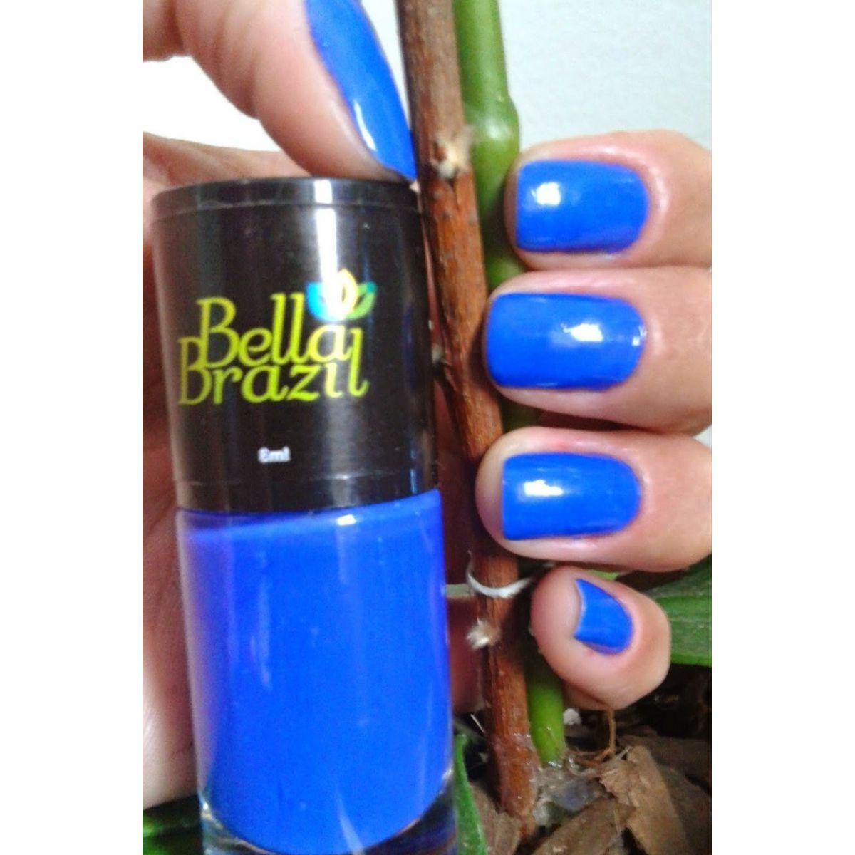 Esmalte Cremoso Campo Grande  Bella Brazil - 8ml