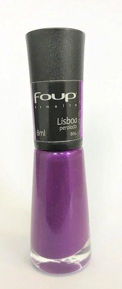Esmalte Cremoso Perolado Lisboa - Foup 8ml