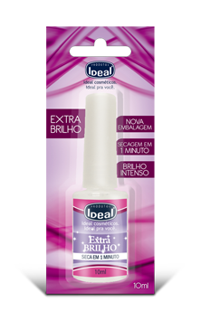 Esmalte Extra Brilho para Unha - Ideal 9ml