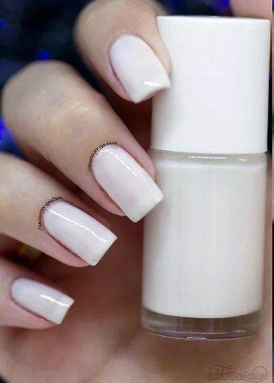 Esmalte Gel Effect Polish - Branco Névoa Bella Brazil 8ml