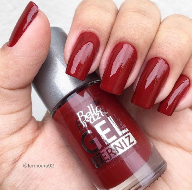 Esmalte Gel Effect Verniz FREE - Hibisco Bella Brazil 8ml