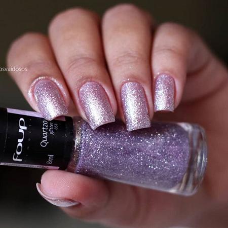 Esmalte Glitter Quartzo - Foup 8ml