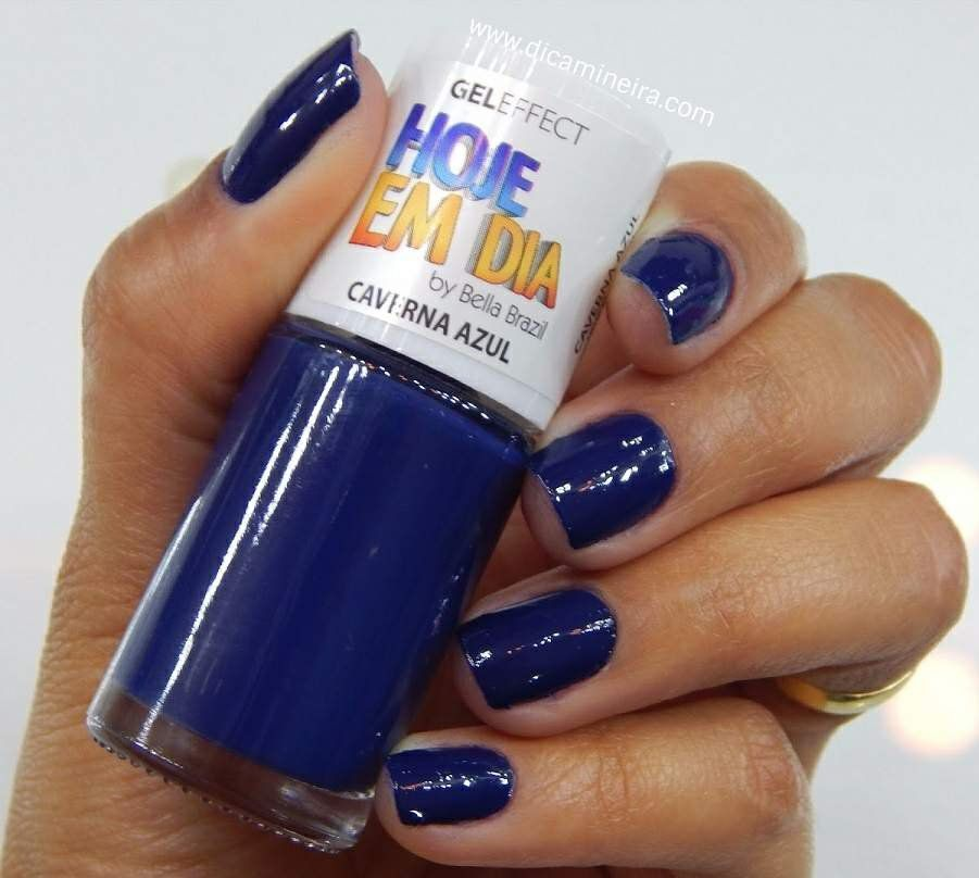 Esmalte Hoje Em Dia Gel Effect Caverna Azul 9ml - Bella Brazil