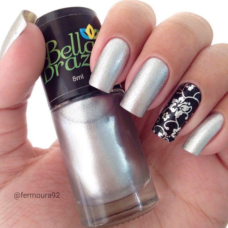 Esmalte Metalizado Angra dos Reis  Bella Brazil - 8ml