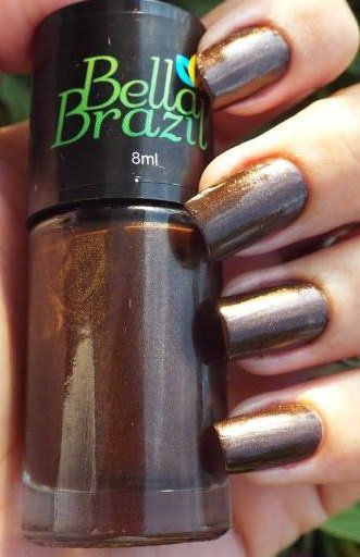 Esmalte Metalizado Cataratas do Iguaçu Bella Brazil - 8ml