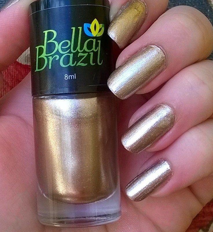 Esmalte Metalizado Pelourinho Bella Brazil - 8ml