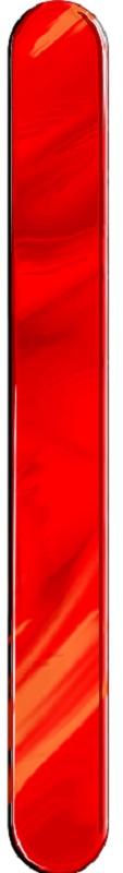 Espátula Plástica Vermelha Descartável - 50 Unidades