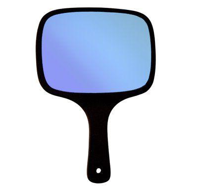 Espelho de Mão Retangular Grande