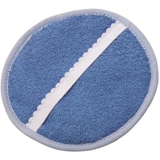 Esponja Para Banho Atoalhada Redonda 01 Unidades - Santa Clara
