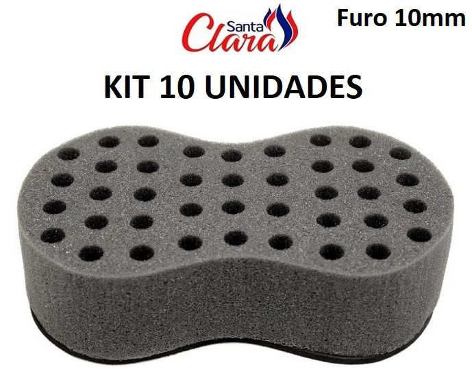 Esponja Twist Infinity Pequena Afro Nudred Kit com 10 Unids - Santa Clara