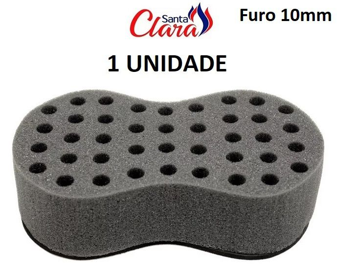 Esponja Twist Infinity Pequena Afro Nudred 01 Unid - Santa Clara