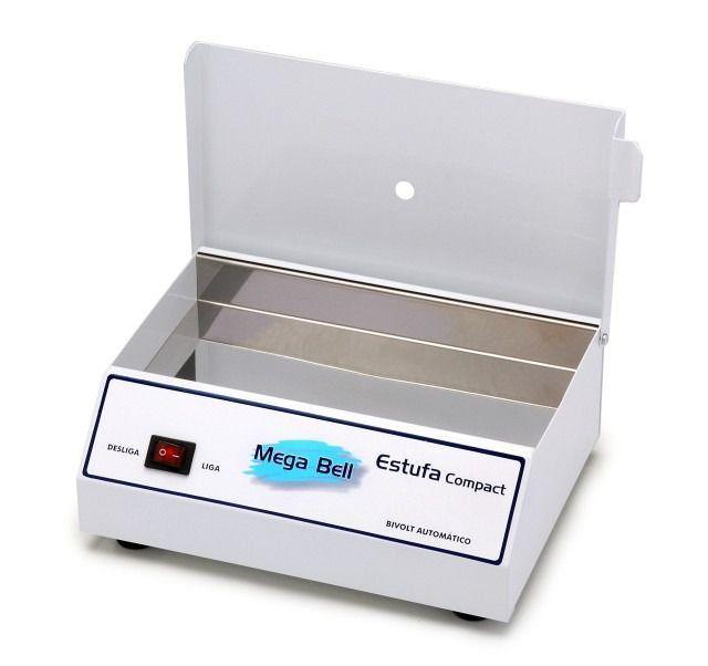Estufa Forno Esterilizador para Alicates de Unha Manicure Pedicure - Mega Bell